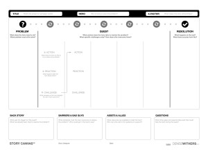 2016 Story Canvas